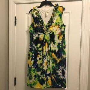 Tropical dress 16